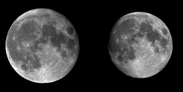 Full Moon: Perigee vs Apogee