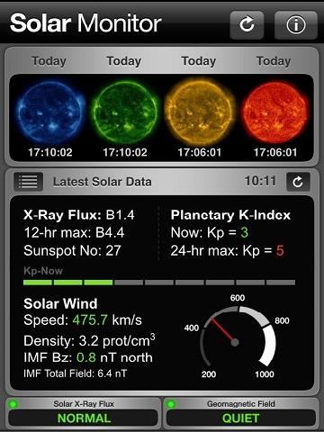 SEP 4, 2015 Kp 5 Geomagnetic Storm