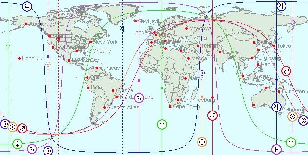 DEC 21, 2010 Full Moon (Total Lunar Eclipse) Astro-Locality Map