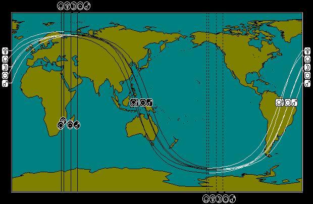 JAN 4, 2011 Partial Solar Eclipse Astro-Map