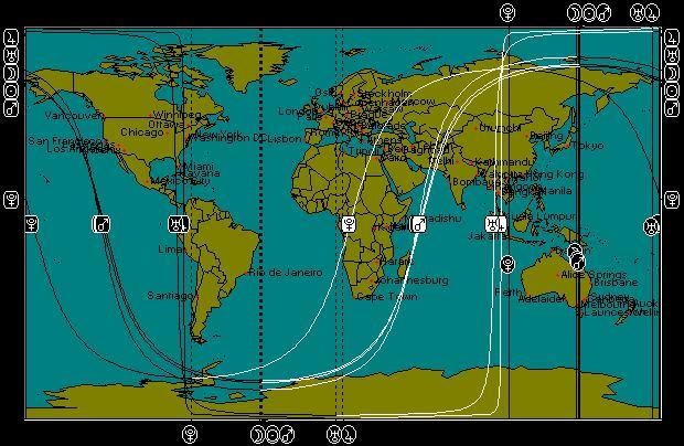 FEB 3, 2011 New Moon Astro-Locality Map