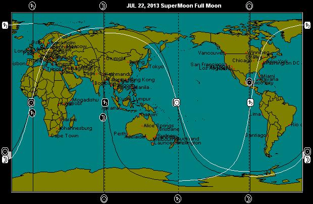 JUL 22, 2013 SuperMoon Astro-Map