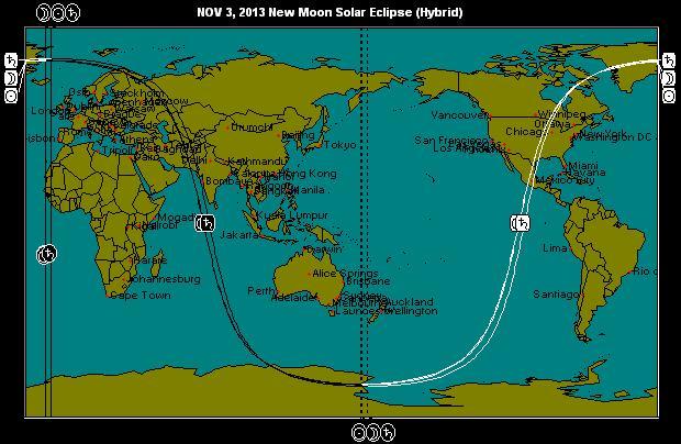 NOV 3, 2013 Solar Eclipse (Hybrid)