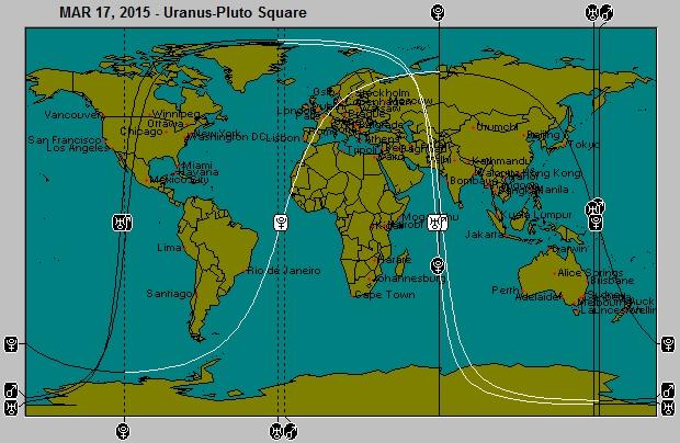 MAR 17, 2015 Uranus-Pluto Square Astro-Locality Map