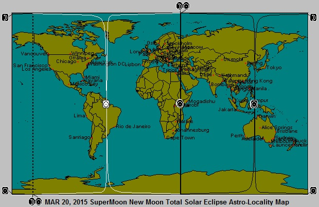 MAR 20, 2015 New Moon (Stealth) SuperMoon Solar Eclipse Astro-Locality Map
