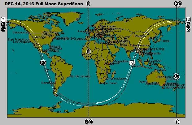 December 14 New Moon