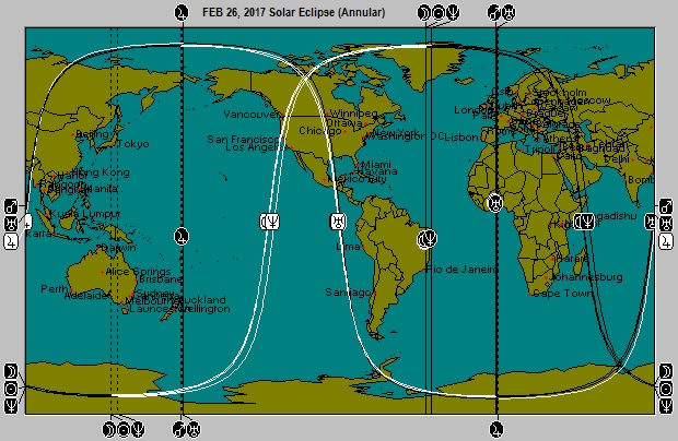 FEB 26, 2017 Solar Eclipse (Annular)