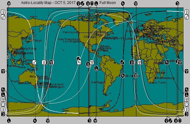 OCT 5, 2017 Full Moon Astro-Locality Map