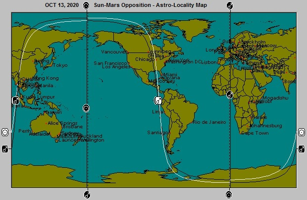 OCT 13, 2020 Sun-Mars Opposition Astro-Locality Map